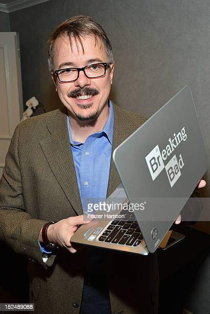 Writer Vince Gilligan attends Variety's Primetime Emmy Elite Showrunners Breakfast sponsored by HP and Udi's Gluten Free at the InterContinental...