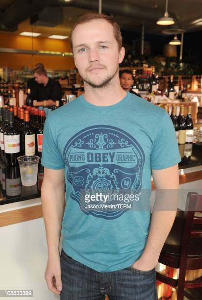 Writer Will Eubank poses during the Angels Airwaves LOVE premiere party at the 26th Annual Santa Barbara International Film Festival on February 4...