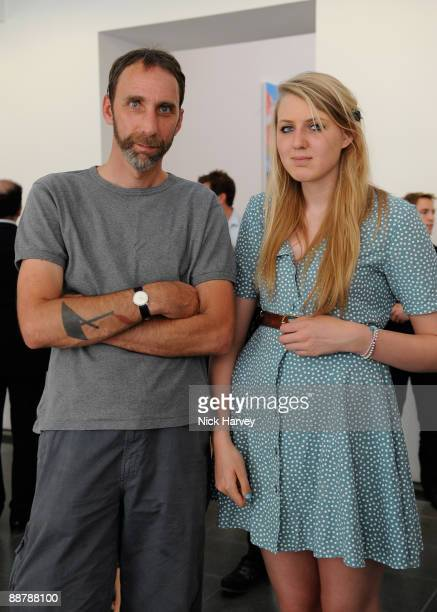 Writer Will Self and his daughter Madeleine Self attend the private view of 'Popeye Series' at The Serpentine Gallery on July 1 2009 in London England