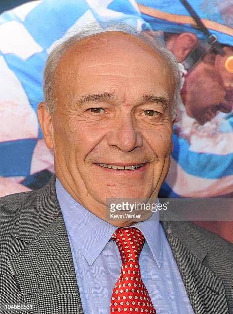 Writer William Nack attends the premiere Of Walt Disney Pictures' 'Secretariat' at the El Capitan Theatre on September 30 2010 in Hollywood California