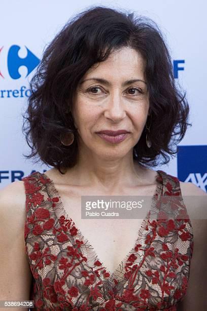 Writer Yasmina Reza attends 'Prix del Dialogo' award 2016 at 'Casa Monico' on June 7 2016 in Madrid Spain