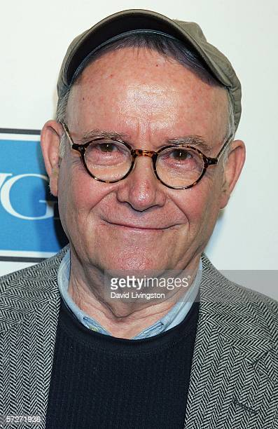 Writer/actor Buck Henry arrives at the 101 Greatest Screenplays gala reception at the Writers Guild Theater on April 6 2006 in Beverly Hills...
