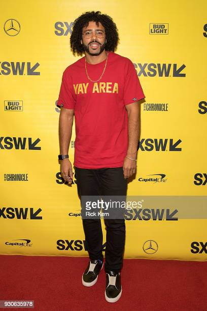Writer/actor Daveed Diggs attends the premiere of 'Blindspotting' during the 2018 SXSW Film Festival at The Paramount Theatre on March 11 2018 in...