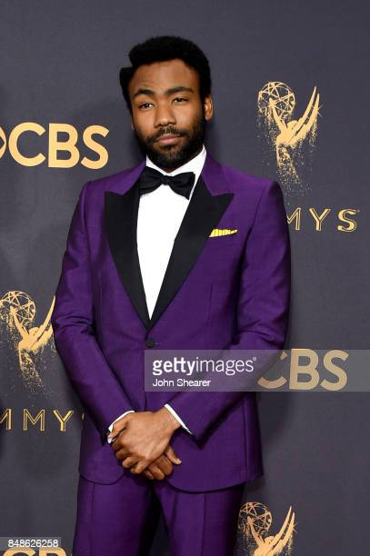 Writeractor Donald Glover attends the 69th Annual Primetime Emmy Awards at Microsoft Theater on September 17 2017 in Los Angeles California