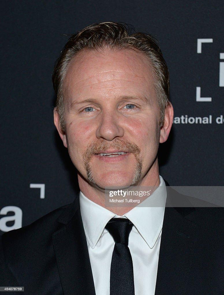 Writer/actor Morgan Spurlock attends the International Documentary Association's 2013 IDA Documentary Awards at Directors Guild Of America on December 6, 2013 in Los Angeles, California.