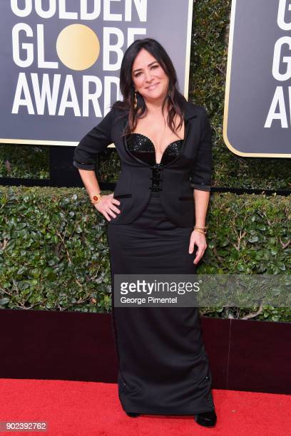 Writer/Actor Pamela Adlon attends The 75th Annual Golden Globe Awards at The Beverly Hilton Hotel on January 7 2018 in Beverly Hills California