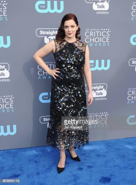 Writer-actor Rachel Bloom attends The 23rd Annual Critics' Choice Awards at Barker Hangar on January 11, 2018 in Santa Monica, California.