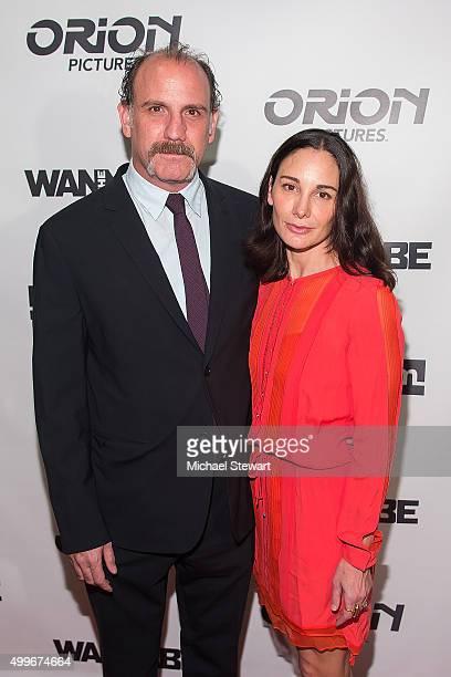 Writer/Actor/Director Nick Sandow and Tamara MalkinStuart attend The Wannabe New York premiere at Crosby Street Hotel on December 2 2015 in New York...