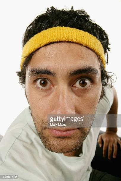 Writer/actor/director Taika Waititi from the film 'Eagle vs Shark' poses for a portrait during the 2007 CineVegas film festival at the Palms Casino...