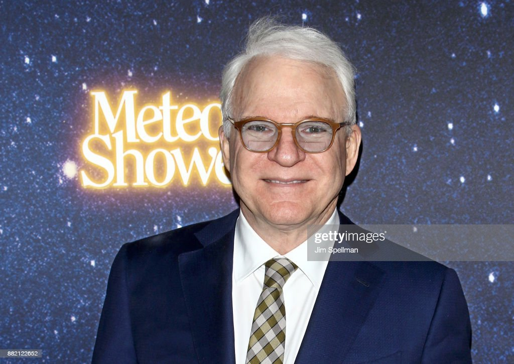 Writer/actor/musician Steve Martin attends the 'Meteor Shower' Broadway opening night at the Booth Theatre on November 29, 2017 in New York City.