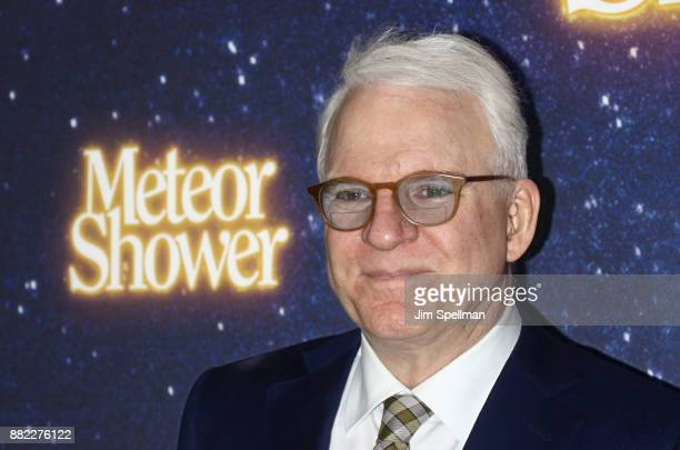 Writer/actor/musician Steve Martin attends the 'Meteor Shower' Broadway opening night at the Booth Theatre on November 29 2017 in New York City