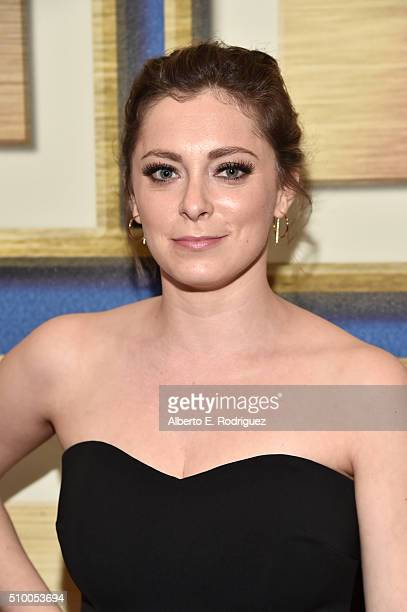 Writer/actress Rachel Bloom attends the 2016 Writers Guild Awards at the Hyatt Regency Century Plaza on February 13 2016 in Los Angeles California