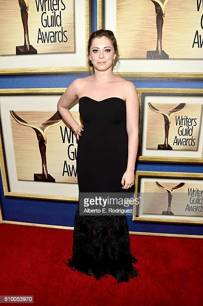 Writer/actress Rachel Bloom attends the 2016 Writers Guild Awards at the Hyatt Regency Century Plaza on February 13, 2016 in Los Angeles, California.