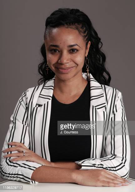 Writer/CoDirector Kia Moses poses for a portrait during the American Black Film Festival on June 13 2019 in Miami Beach Florida