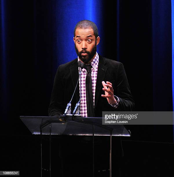 Writer/comedian Wyatt Cenac attends the 63rd annual Writers Guild Awards at the AXA Equitable Center on February 5 2011 in New York United States