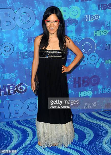 Writer/comic Ali Wong arrives for the HBO's Post Emmy Awards Reception held at The Plaza at the Pacific Design Center on September 18 2016 in Los...