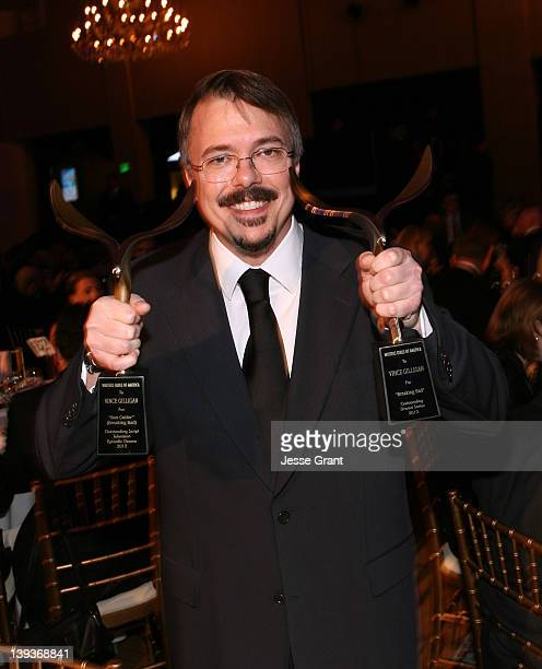 Writer/creator Vince Gilligan attends the 2012 Writers Guild Awards at the Hollywood Palladium on February 19 2012 in Los Angeles California