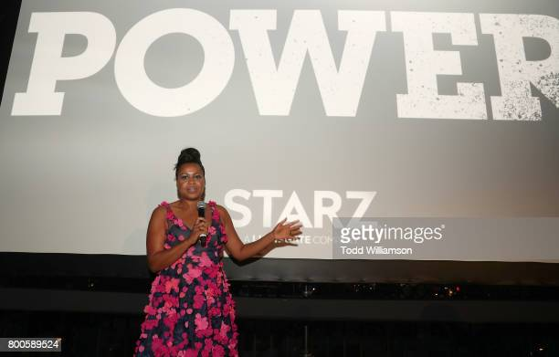 Writer/Creator/EP Courtney Kemp attends STARZ 'Power' Season 4 LA Screening And Party at The London West Hollywood on June 23 2017 in West Hollywood...