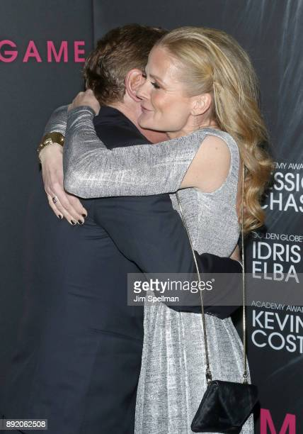 Writer/director Aaron Sorkin and cinematographer Charlotte Bruus Christensen attend the 'Molly's Game' New York premiere at AMC Loews Lincoln Square...