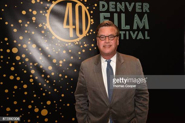 Writer/Director Aaron Sorkin attends a screening of 'Molly's Game' at the 40th annual Denver Film Festival on November 9 2017 in Denver Colorado