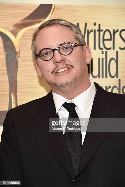 Writer/director Adam McKay attends the 2016 Writers Guild Awards at the Hyatt Regency Century Plaza on February 13 2016 in Los Angeles California