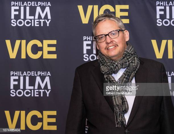 Writer/director Adam McKay attends The 3rd Annual Lumiere Award and a special advance screening of his new movie 'Vice' at Philadelphia Film Center...