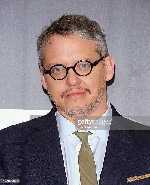 """Writer/director Adam McKay attends the """"The Big Short"""" New York premiere at Ziegfeld Theater on November 23, 2015 in New York City."""