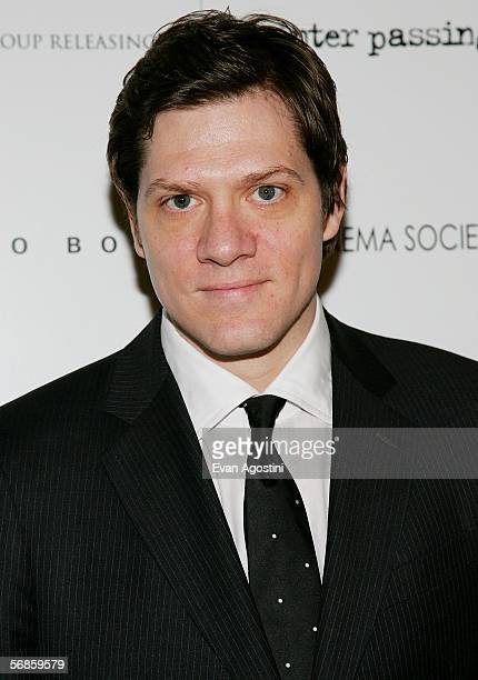 Writer/director Adam Rapp attends the Cinema Society/Hugo Boss screening of Winter Passing at the Tribeca Grand February 15 2006 in New York City