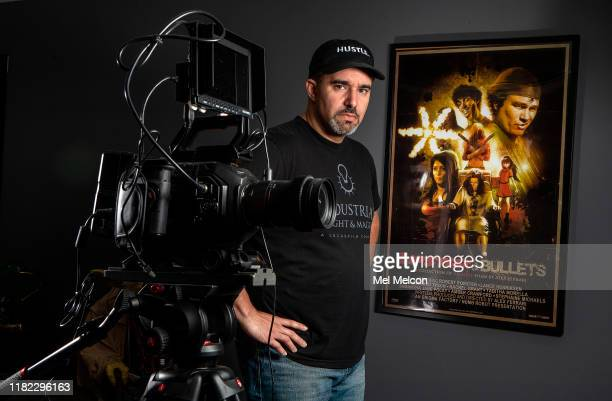 Writer/director Alex Ferrari is photographed for Los Angeles Times on October 18 2019 in Burbank California PUBLISHED IMAGE CREDIT MUST READ Mel...