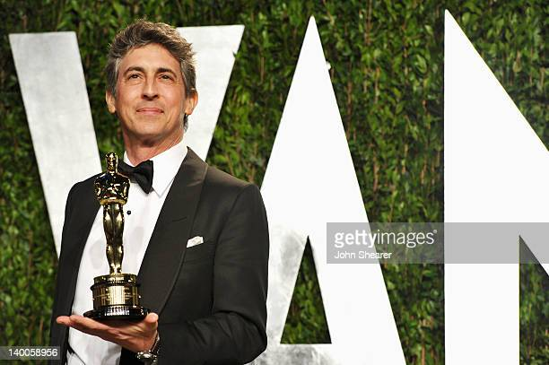 Writerdirector Alexander Payne arrives at the 2012 Vanity Fair Oscar Party hosted by Graydon Carter at Sunset Tower on February 26 2012 in West...