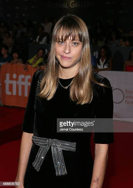Writer/Director Alice Winocour attends the Disorder premiere during the 2015 Toronto International Film Festival at Roy Thomson Hall on September 17...