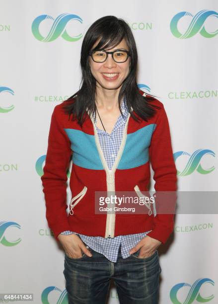 Writer/director Alice Wu attends the ClexaCon 2017 convention at Bally's Las Vegas on March 5 2017 in Las Vegas Nevada