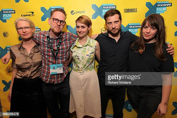 Writer/director Alison Bagnall, producer Ted Speaker, actress Joslyn Jensen, actor Kentucker Audley and cinematographer Ashley Connor attend the...