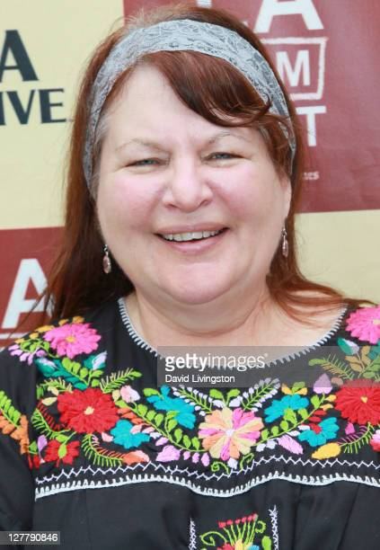 Writer/director Allison Anders attends the Money Talks Art Matters panel discussion sponsored by LMU School of Film and Television during the 2011...