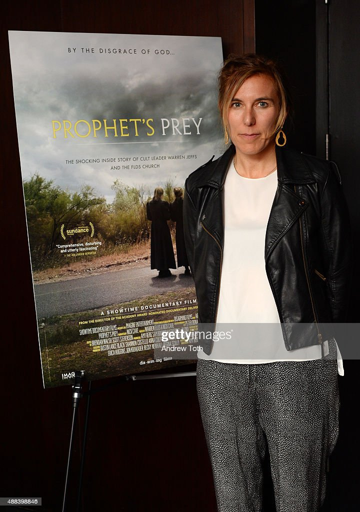 Writer/Director Amy Berg attends the private screening and