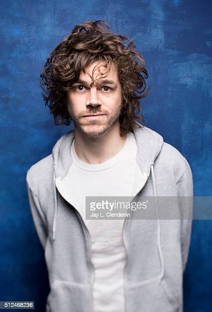 Writer/director Andre Hyland of the film ''The 4th' poses for a portrait at the 2016 Sundance Film Festival on January 23 2016 in Park City Utah...