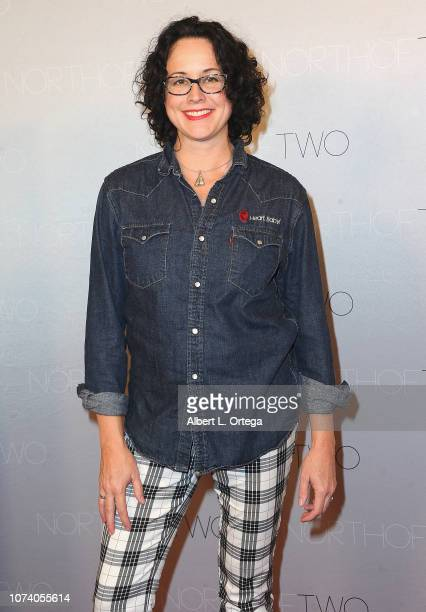 Writer/director Angela Shelton arrives for the premiere of 'Heart Baby' held at The Ahrya Fine Arts Laemmle Theater on November 23 2018 in Beverly...
