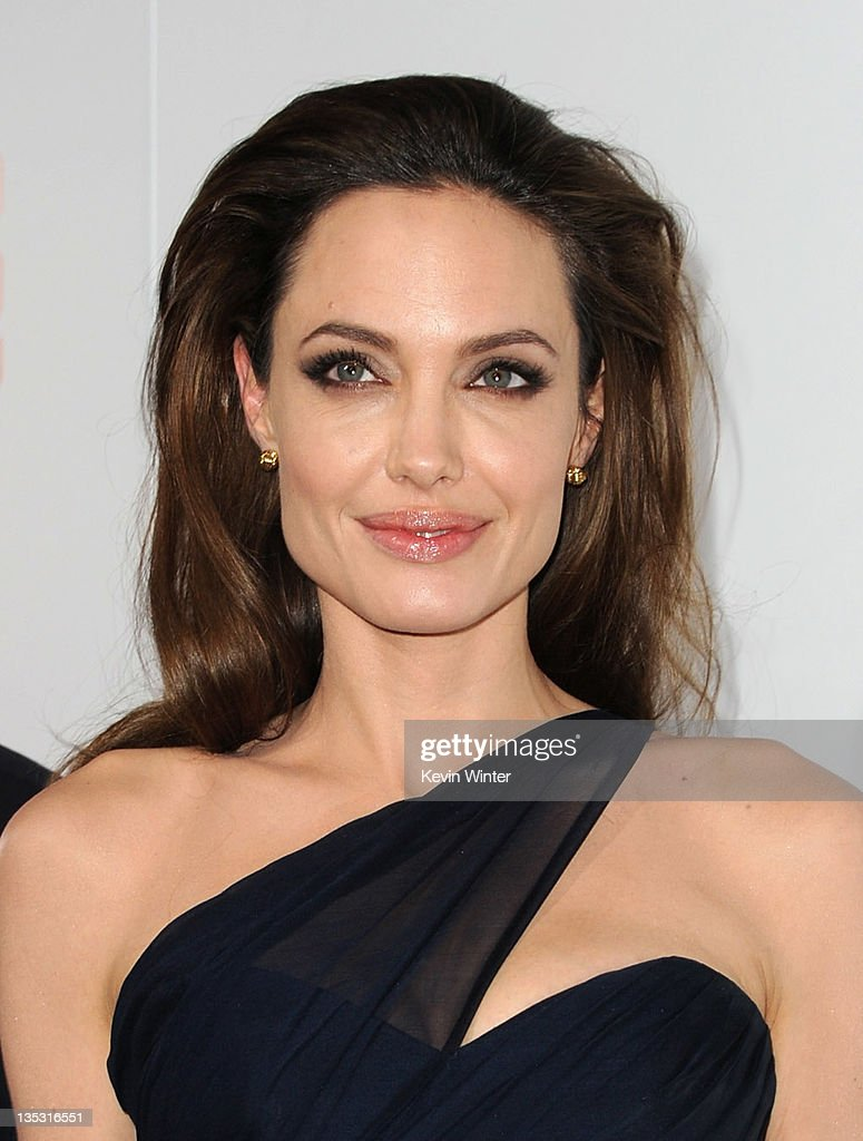 Writer/Director Angelina Jolie arrives at the premiere of FilmDistrict's 'In the Land of Blood and Honey' held at ArcLight Cinemas on December 8, 2011 in Hollywood, California.