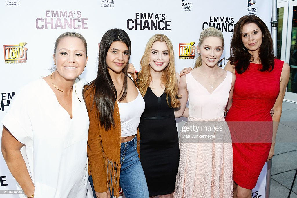 "Screening Of Sony Pictures Home Entertainment's ""Emma's Chance"" - Red Carpet"