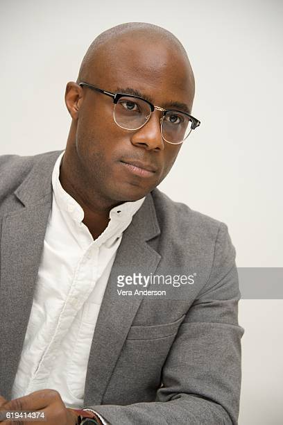 Writerdirector Barry Jenkins at the 'Moonlight' Press Conference at the Four Seasons Hotel on October 28 2016 in Beverly Hills California
