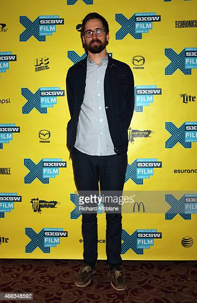 Writer/director Benjamin Dickinson attends the premiere of 'Creative Control' during the 2015 SXSW Music Film Interactive Festival at Alamo Ritz on...