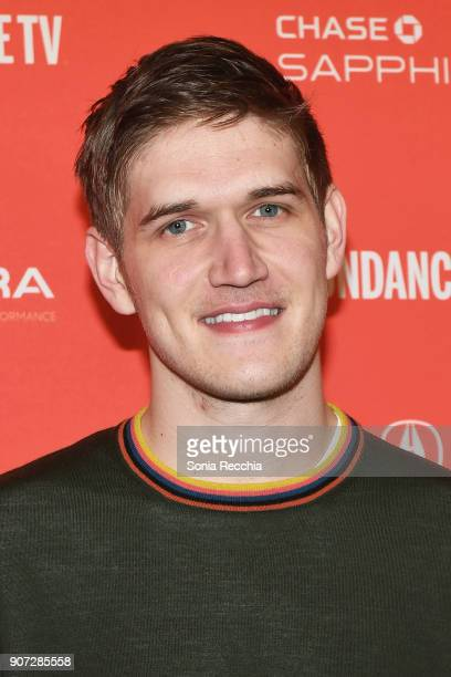 Writer/director Bo Burnham attends the 'Eighth Grade' Premiere during 2018 Sundance Film Festival at Park City Library on January 19 2018 in Park...