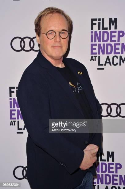 """Writer/director Brad Bird attends a Screening and Q&A of """"The Incredibles 2"""" presented by Film Independent at Bing Theater At LACMA on June 7, 2018..."""