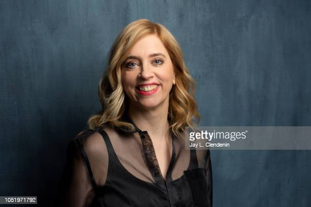 Writer/Director Carol Morley from 'Out of Blue' is photographed for Los Angeles Times on September 8 2018 in Toronto Ontario PUBLISHED IMAGE CREDIT...