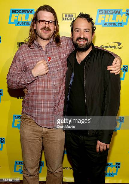 """Writer/director Carson D. Mell and actor Steve Zissis attend the premiere of """"Another Evil"""" during the 2016 SXSW Music, Film + Interactive Festival..."""