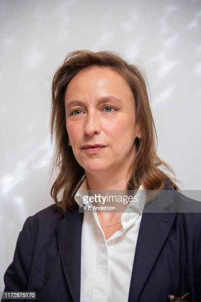 Writerdirector Celine Sciamma at the Portrait Of A Lady On Fire Press Conference at the Fairmont Royal York on September 06 2019 in Toronto Canada