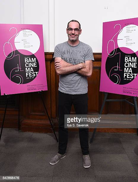 Writer/Director Chad Hartigan attends 'Morris From America' screening at BAM Harvey Theater on June 24 2016 in New York City