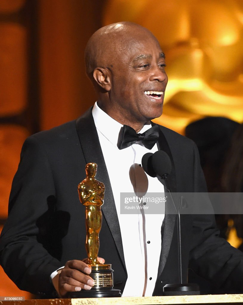 Writer/Director Charles Burnett, winner of the Honorary Award presented by Ava DuVernay, speaks onstage at the Academy of Motion Picture Arts and Sciences' 9th Annual Governors Awards at The Ray Dolby Ballroom at Hollywood & Highland Center on November 11, 2017 in Hollywood, California.
