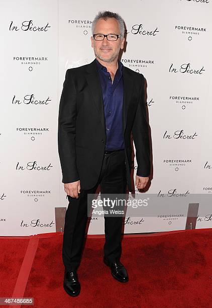 Writer/director Charlie Stratton arrives at the Los Angeles premiere of 'In Secret' at ArcLight Hollywood on February 6 2014 in Hollywood California