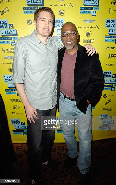 Writer/director Chris Eska and actor Alfonso Freeman pose for a portrait at 'The Retrieval' Photo Op during the 2013 SXSW Music Film Interactive...